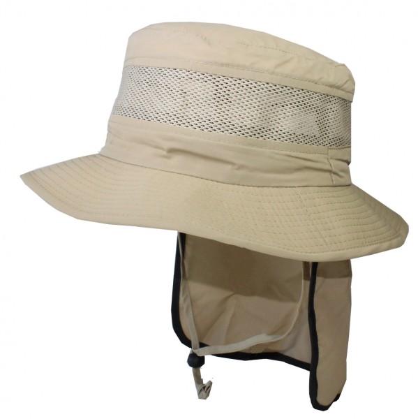 Freizeit- & Fischerhut mit Nackenschutz